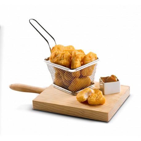 Nuggets de pollo con salsa miel-mostaza