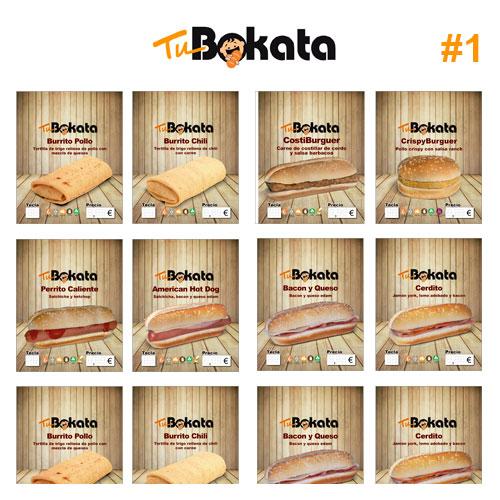 Pack Etiquetas TuBokata Madera 1/2