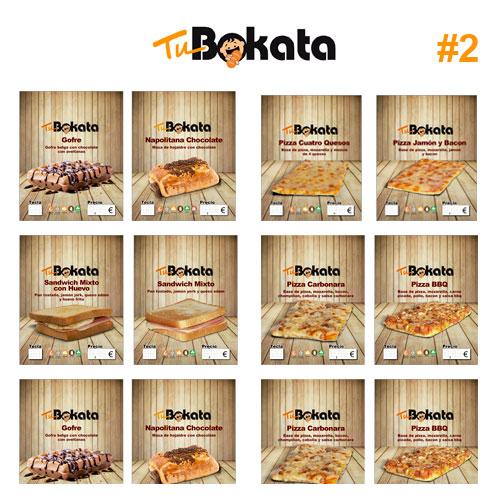 Pack Etiquetas TuBokata Madera 2/2