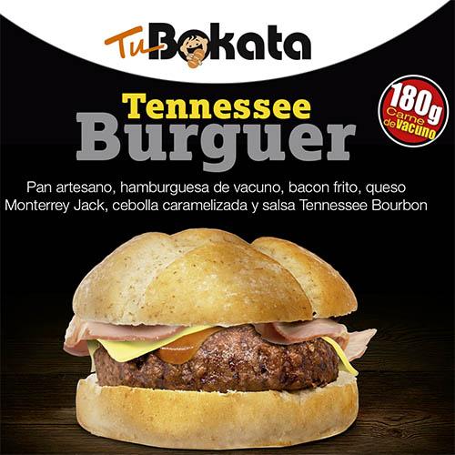 Etiqueta TuBokata Tennessee Burguer