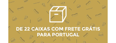 Envio gratuito a partir de 22 cajas